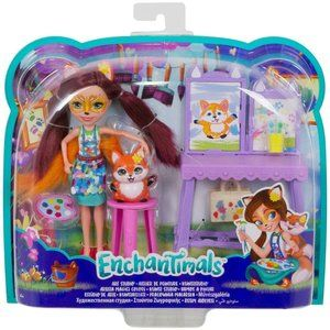 Enchantimals Art Studio Doll Felicity Fox
